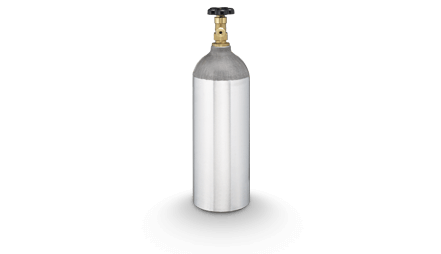 Botella de gas CO<sub>2</sub> - 2,3 KG (5 LB)