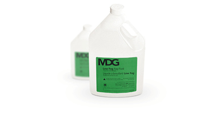 MDG Low Fog Fluid